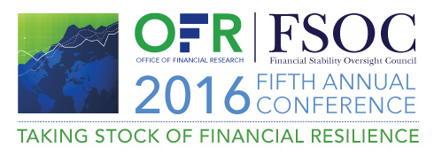 Logo of the OFR and FSOC conference held on February, fifth 2016